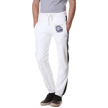 Vêtements Homme Pantalons de survêtement Geographical Norway Survêtement / Jogging Géographical norway  Moustache Blanc Blanc