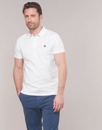 Vêtements Homme Polos manches courtes Timberland SS POLO Blanc