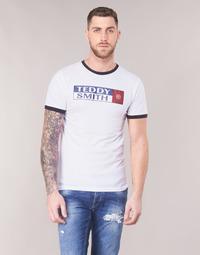 Vêtements Homme T-shirts manches courtes Teddy Smith TOZO Blanc