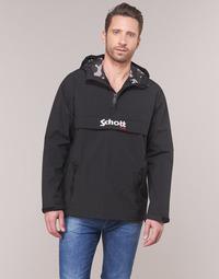 Vêtements Homme Blousons Schott PIKES 1 Noir