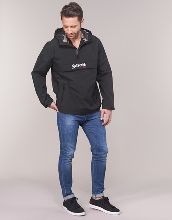 Vêtements Pikes Homme 1 Blousons Schott Noir L34ARj5q