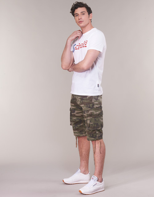 ShortsBermudas Homme Schott Camo Ranger Tr sdxCthQr