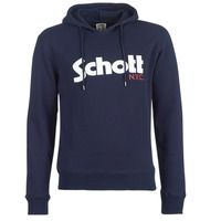 Vêtements Homme Sweats Schott HOOD Marine