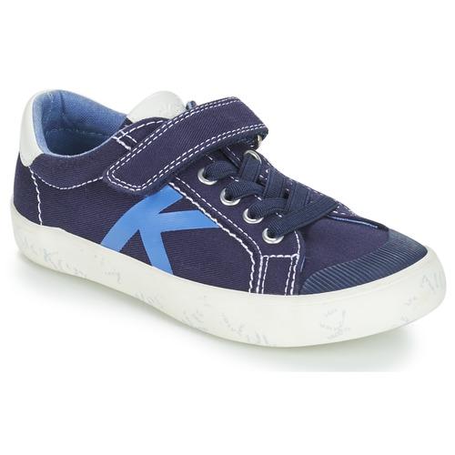 Chaussures Gody Garçon Basses Kickers Baskets Marine dxoerBWC