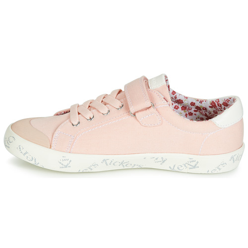Basses Fille Chaussures Kickers Rose Baskets Gody Clair sQdhrtC