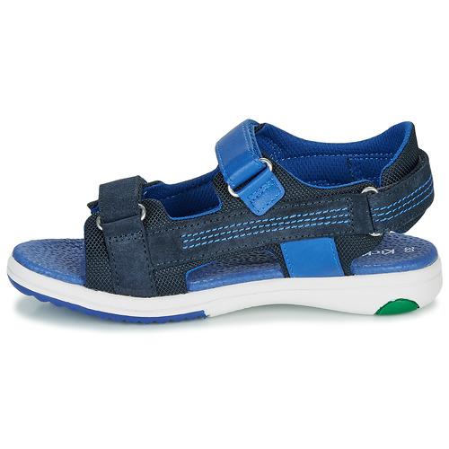 Plane Garçon Sandales Chaussures Et pieds Nu Marine Kickers SGjUMLVqzp