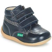 Chaussures Garçon Boots Kickers BILLY VELK Marine