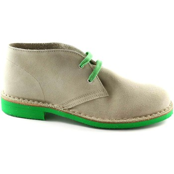 Chaussures Boots Manifatture Italiane MANIFATTURE chaussures italiennes de glace 2361 bottes de randon Beige