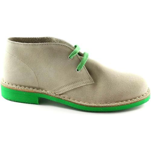 Chaussures Boots Manifatture Italiane MAI-2361-GH Beige