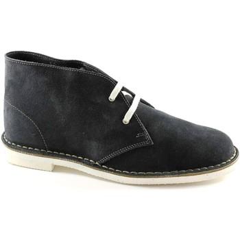 Boots Manifatture Italiane MANIFATTURE ITALIENNES 190 chaussures bleues homme bottes de ran