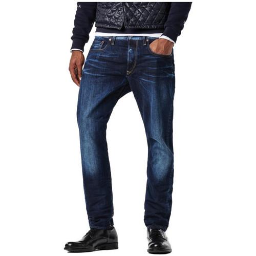 Vêtements Homme Jeans droit G-Star Raw Jean  3301 Tapered Hadron Denim Dk Aged