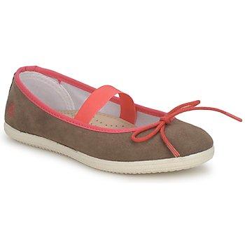 Chaussures Fille Ballerines / babies Petit Bateau KITY KID Kaki