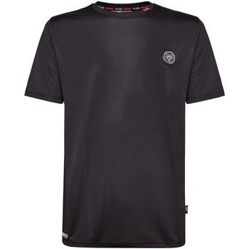 Vêtements Homme T-shirts manches courtes Philipp Plein Sport Tee Shirt Print2 Mtk2108 Luka  - les NOIRS