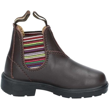 Chaussures Enfant Boots Blundstone BCCAL0296 1413 strp brun
