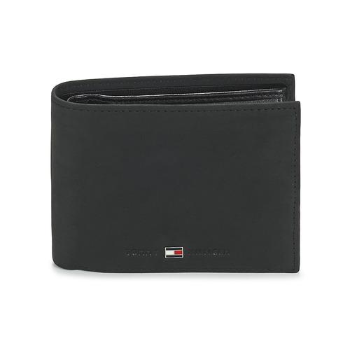 Portefeuilles / Porte-monnaie Tommy Hilfiger JOHNSON CC AND COIN POCKET Noir 350x350