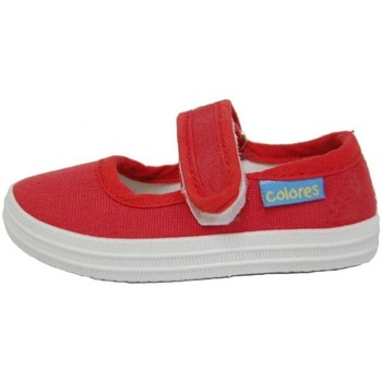 Chaussures Fille Tennis Colores MERCEDES LONA 1910 Rojo Rouge