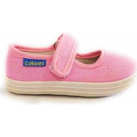 Chaussures Fille Tennis Colores MERCEDES LONA 1910 Rosa Rose
