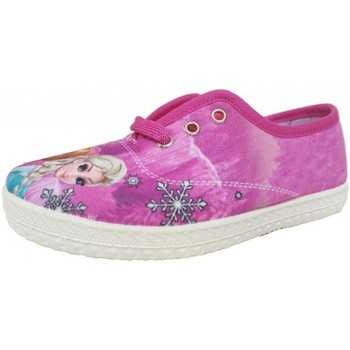 Chaussures Fille Tennis Colores 026070 Fuxia Rose