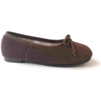 Chaussures Fille Ballerines / babies Colores 2284 Chocolate Marron