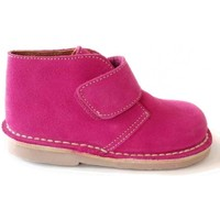 Chaussures Fille Bottines Colores 18200 Fuxia Rose