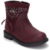 Chaussures Fille Bottines Lulu Lulú BABY LILLY LL 140010 S Burdeos Bordeaux