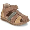 Chaussures Garçon Sandales et Nu-pieds Citrouille et Compagnie FRINOUI Marron / Multicolore