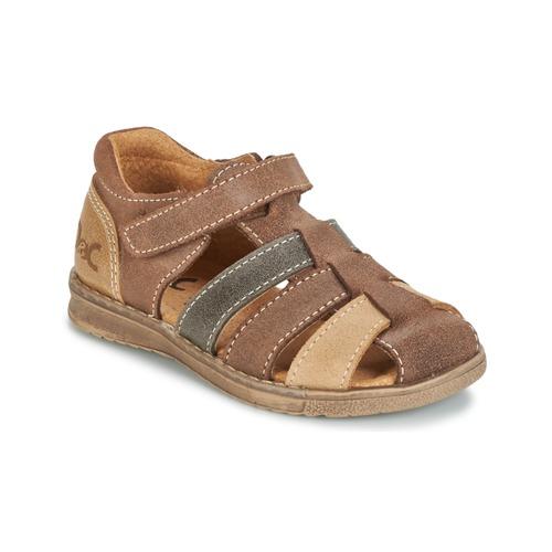 Chaussures Garçon Sandales et Nu-pieds Citrouille et Compagnie FRINOUI Marron