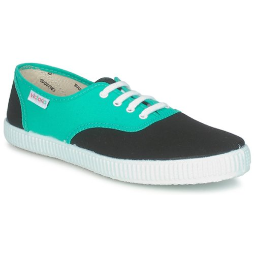 Chaussures Baskets basses Victoria 6651 Cyan / Noir