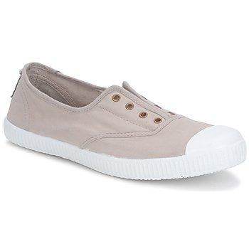 Chaussures Femme Baskets basses Victoria 6623 Beige