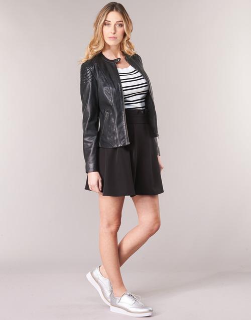 CLIM  Naf Naf  vestes en cuir / synthétiques  femme  noir