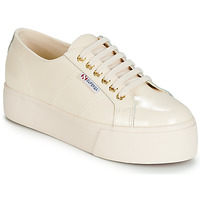 Chaussures Femme Baskets basses Superga 2790 LEAPATENT Ecru