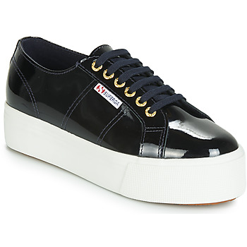 Chaussures Femme Baskets basses Superga 2790 LEAPATENT Marine