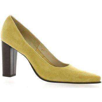 Chaussures Femme Escarpins Vidi Studio Escarpins cuir velours Safran
