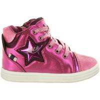 Chaussures Fille Baskets montantes Lois Jeans 46019 Rosa