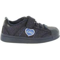 Chaussures Fille Baskets basses Lois 46065 Azul