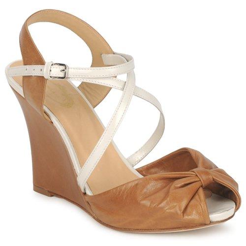 Chaussures Femme Sandales et Nu-pieds Paul & Joe MYRTI Camel/Ecru