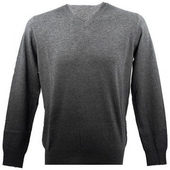 Vêtements Homme Pulls Real Cashmere Pull  COLLO V (Anthracite)- IUB109842-COLLOV-TOPPE Anthracite