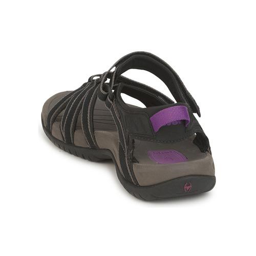 Sandales Nu Et pieds Femme NoirGris Tirra Teva q3A5Rj4L