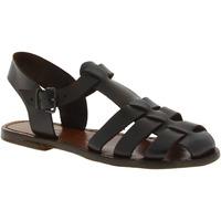 Chaussures Femme Sandales et Nu-pieds Gianluca - L'artigiano Del Cuoio 501 D MORO CUOIO Testa di Moro