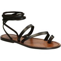Chaussures Femme Sandales et Nu-pieds Gianluca - L'artigiano Del Cuoio 513 D MORO CUOIO Testa di Moro