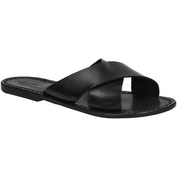 Chaussures Femme Mules Gianluca - L'artigiano Del Cuoio 560 D NERO CUOIO nero