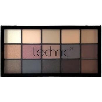 Beauté Femme Palettes maquillage yeux Technic - Mystic Mauves Palette 15 fards à paupières Multicolor