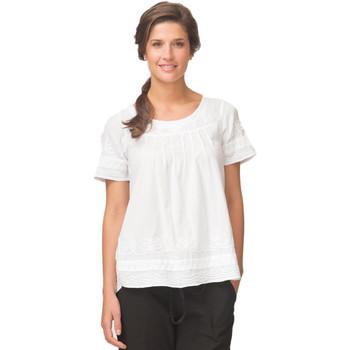 Vêtements Femme Tuniques La Cotonniere TUNIQUE CAMELIA Blanc
