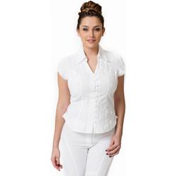 Vêtements Femme Chemises / Chemisiers La Cotonniere CHEMISIER PETITES MANCHES Blanc
