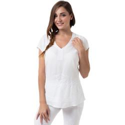 Vêtements Femme Tops / Blouses La Cotonniere HAUT ALEXANE Blanc
