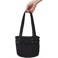 Sacs Femme Cabas / Sacs shopping La Cotonniere SAC PAILLETTES Noir