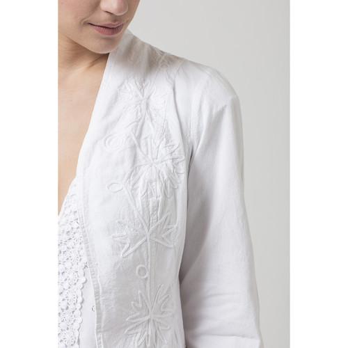 La Cotonniere VESTE LORENA Blanc 14021948