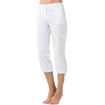 Vêtements Femme Pantacourts La Cotonniere PANTACOURT NELLY Blanc