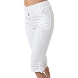 Vêtements Femme Pantacourts La Cotonniere CORSAIRE GABRIELA blanc