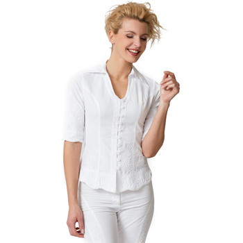 Vêtements Femme Chemises / Chemisiers La Cotonniere CHEMISIER NADEGE Blanc